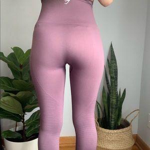 Gymshark mauve leggings s small
